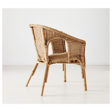 Кресло АГЕН ротанг, бамбук фото 5