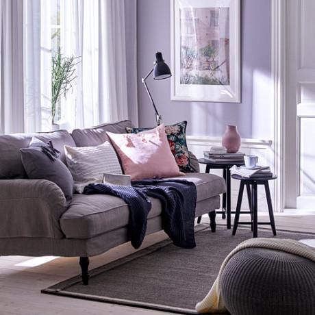Чехол на подушку АЙНА светло-розовый фото 5