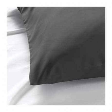 Наволочка НАТТЭСМИН темно-серый фото 6