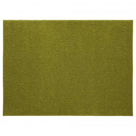 Ковер, длинный ворс АЛЛЕРСЛЕВ светло-зеленый  фото 1